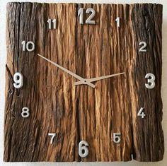 Woodworking Projects Diy, Woodworking Shop, Wood Projects, Clock Art, Diy Clock, Restore Wood, Cool Clocks, Wall Clock Design, Wooden Clock