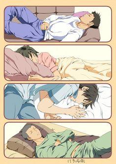 Haikyuu!! :: Sleepy boys <3 | This... is... too... cute...