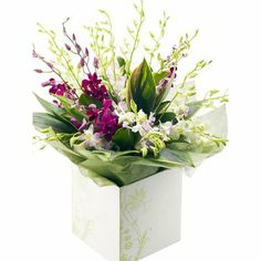 Birthday Gifts Orchid Bouquet For Bangalore Delivery Fast And Same Day Home To Visit