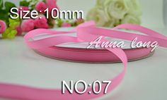 100yards Grosgrain Ribbon 3/8'' 10mm hairbows gift packing wedding decoration diy ribbons No: 07 -- Be sure to check out this awesome item.