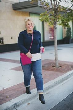 fashion styles for plus size women over 50 years age