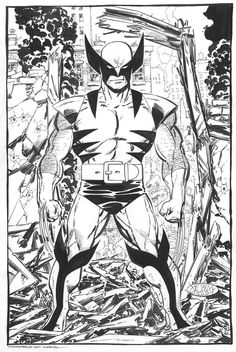 Wolverine commission by John Byrne. 2011.