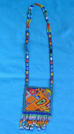 Huichol Bead Necklace | Flickr - Photo Sharing!