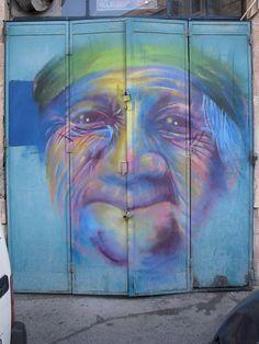 Jerusalem street art. Photo by Mekron