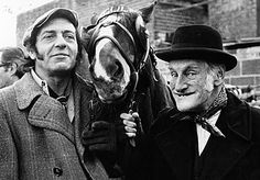 Steptoe and Son - Classic British sitcom about father and son Rag and Bone men. 1962 - 1974