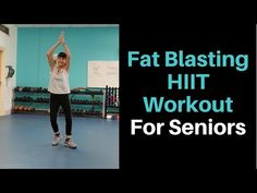 Mix up your routine and burn those calories with this fat burning HIIT workout. Go at your own pace and work to build your stamina! --Find other free workout. Fat Burning Home Workout, Arthritis Exercises, Fitness Workout For Women, Yoga Fitness, Senior Fitness, Burn Belly Fat, Workout Videos, Workout Programs, 7 Hours