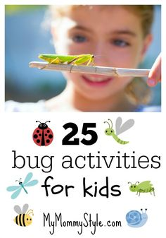 25 activites bug activities for kids mymommystyle.com