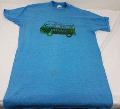 vtg Phish shirt Rare Volkswagen bus 90s concert tshirt One Of A Kind! FESTIVAL