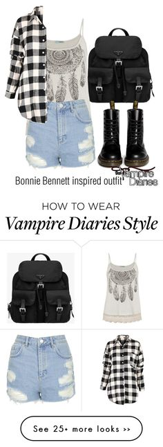 """Bonnie Bennett inspired outfit/The Vampire Diaries"" by tvdsarahmichele on Polyvore"