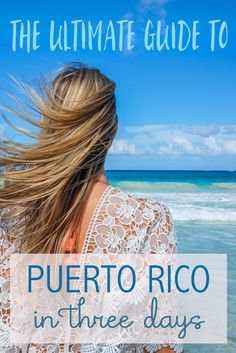With its diverse tropical landscape, white-sand beaches and swaggering history, Puerto Rico is a Caribbean treasure. After three days on the Island of Enchantment, I got to experience a lot of what the island had to offer, and I was impressed!