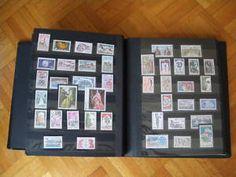 On collectionnait les timbres, mon père me donnait ceux qu'il avait en double