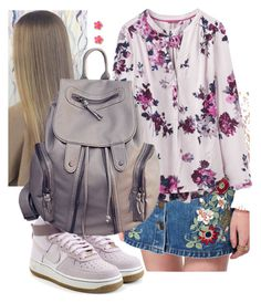 """""""Untitled #1614"""" by purplicious ❤ liked on Polyvore featuring NIKE, Miss Selfridge, Joules and Kate Spade"""