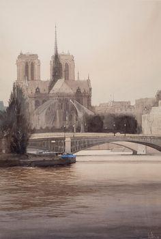Charles Villeneuve - Notre Dame de Paris
