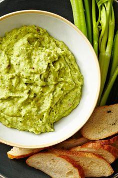 Get Avocado-Feta Dip Recipe from Food Network