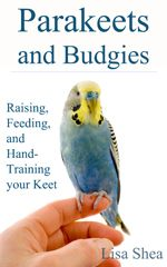 parakeet care ebook  It's good to learn about them, if you have one. They are such bright, energetic birds.