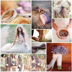 Color Inspiration: Nude and Lavender