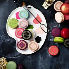 Lip macarons by MOR cosmetics. I think I want them just for the packaging.