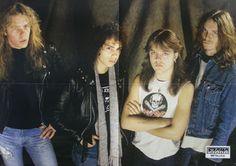 Metallica (1983-1986) la mejor formación