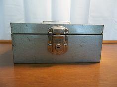Vintage Hamilton Scotch Porta File Lock Box by RevivedTraditions, $19.00