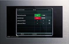 Gira Info-Terminal Touch sw/alu 207205