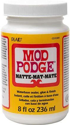Amazon.com : B07PB7FZK1 | B000HWY6EM Idées Mod Podge, Mod Podge Gloss, Mod Podge Matte, Mod Podge Crafts, Journaling, Elmer's Glue, Photo Transfer, Transfer Tape, Gel Medium