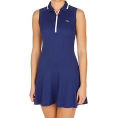 Lacoste Aspirational I Dress Women - Blue, White