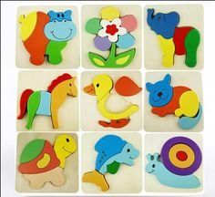 Aliexpress.com : Buy Exempt postage Wood balls thickening cartoon animal three dimensional puzzle board baby wooden educational parent child toys from Reliable ball video suppliers on Wooden toys. | Alibaba Group