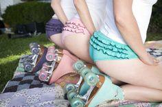 Os patins da Moxi: Roller Skates!