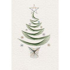 Christmas Tree Prick and Stitch e-pattern