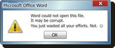 Do you want to recover corruption or any other reasons doc file of MS Word ? If yes, then you can do it with the help of a professional tool.