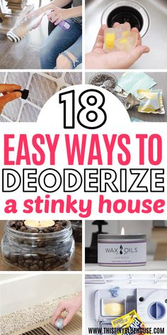 18 Ways To Make Your House Smell Amazing Deep Cleaning Tips, House Cleaning Tips, Cleaning Solutions, Spring Cleaning, Cleaning Hacks, Weekly Cleaning, Cleaning Checklist, Green Cleaning, Cleaning Products