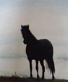 Pferd von Atelierbarbara1 auf Etsy