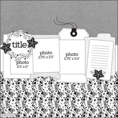 Latest Snap Shots Scrapbooking Pages layouts Strategies Western scrapbooking pages , at no cost, may be on the World-wide-web plus in scrapbook magazines. Scrapbook Layout Sketches, Scrapbook Designs, Scrapbook Albums, Scrapbooking Layouts, Scrapbook Cards, Scrapbook Templates, Page Maps, Picture Layouts, Journal Template
