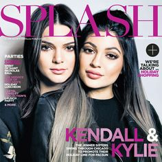 Splash from Kendall Jenner's Best Covers  Kendall and Kylie look stunning on the cover of Splash magazine back in 2014.