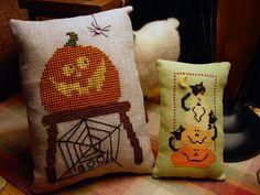 X stitch pattern, Halloweenies
