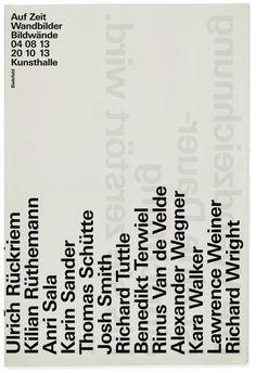 strobo, AUF ZEIT, August 04 – October 20, 2013, Kunsthalle Bielefeld, 2013