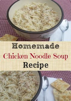 This tastes WAY BETTER than the canned soup and EASY to make too!