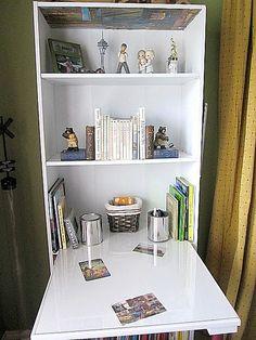 DIY bookshelf/desk