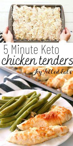 Chicken Tender Recipes, Low Carb Chicken Recipes, Low Carb Recipes, Diet Recipes, Cooking Recipes, Healthy Recipes, Keto Chicken, Recipes With Chicken Tenders, Amigurumi