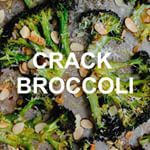 CRACK BROCCOLI  dooo it seriously though youll want to eat the whole damn pan  the recipe link is in my profileabeautifulplate simplydelicious