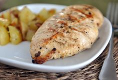 Lemon and Garlic Grilled Chicken Recipe on Yummly