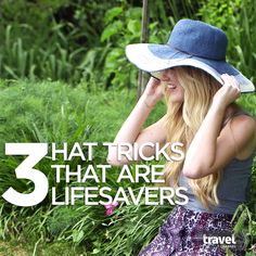 3 Hat Tricks That Are Lifesavers - Site Title Solo Travel, Travel Tips, Travel Hacks, Patagonia, 3 Hat, Florida, Hacks Videos, Travel Channel, South America Travel
