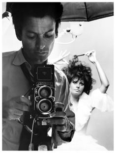 Richard Avedon and Sophia Loren