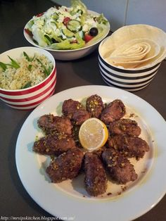 Jamie Oliver's 15 Minute Meals Lamb Kofte with Pitta & Greek Salad