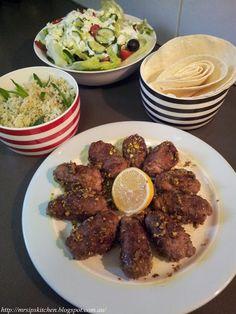 Jamie Oliver's 15 Minute Meals Lamb Kofte with Pitta & Greek Salad