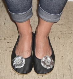 Adult size soft sole leather shoes ballet Custom by minitoes, $40.00