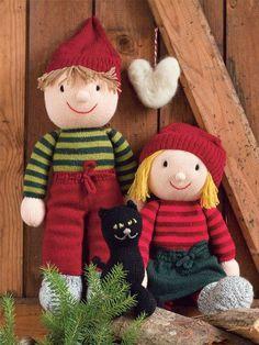 Nisserne har den søde, bløde form, som vækker minder tilbage til dengang, tv-julekalenderen var dukkespil, og tiden op til jul var en lang sød ventetid.
