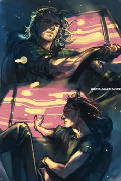 Thor and Loki on the road to nowhere