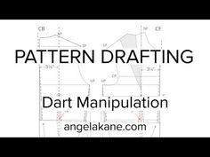 VIDEO: Angela Kane's Flat Pattern Drafting - Dart Manipulation