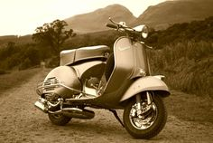 The beautiful Vespa GS